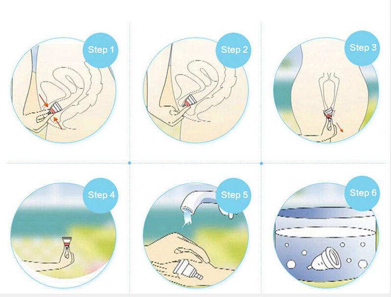 menstruační kalíšek vyjmutí