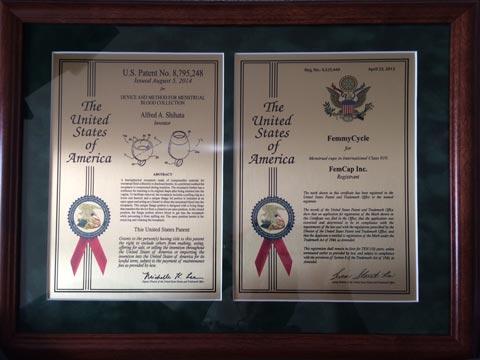 certifikát nezávadnosti femmycycle